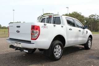 2015 Ford Ranger XL White Sports Automatic Dual Cab Utility.
