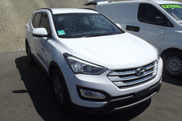 Used Hyundai Santa Fe DM MY14 Active, 2014 Hyundai Santa Fe DM MY14 Active White 6 Speed Sports Automatic Wagon