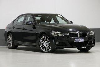 2018 BMW 330i F30 LCI MY18 M Sport Black 8 Speed Automatic Sedan.