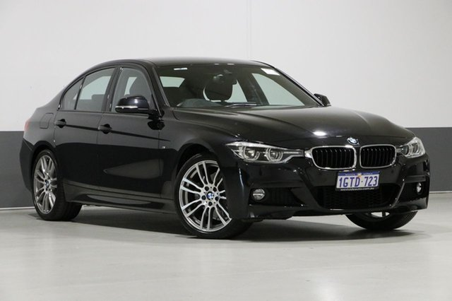 Used BMW 330i F30 LCI MY18 M Sport, 2018 BMW 330i F30 LCI MY18 M Sport Black 8 Speed Automatic Sedan