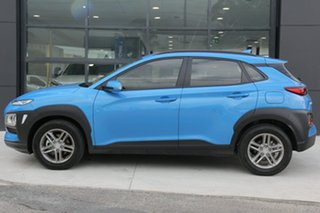 2018 Hyundai Kona OS.2 MY19 Active D-CT AWD Blue Lagoon 7 Speed Sports Automatic Dual Clutch Wagon