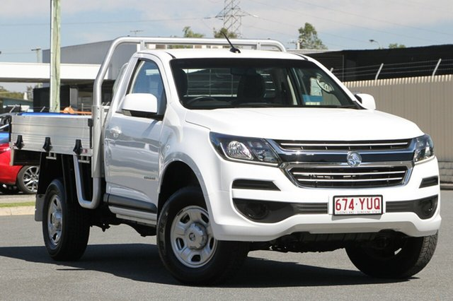 Used Holden Colorado RG MY18 LS 4x2, 2017 Holden Colorado RG MY18 LS 4x2 White 6 Speed Sports Automatic Cab Chassis