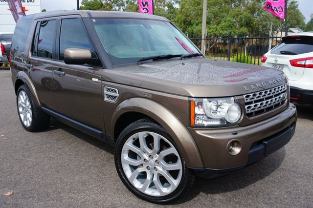 Used Land Rover Discovery 4 Series 4 MY11 TdV6 CommandShift, 2011 Land Rover Discovery 4 Series 4 MY11 TdV6 CommandShift Gold 6 Speed Sports Automatic Wagon
