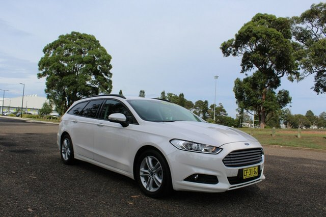 Used Ford Mondeo  Ambiente, 2015 Ford Mondeo Ambiente White Platinum Tri-Coat Sports Automatic Wagon