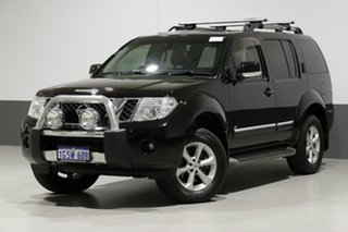 2013 Nissan Pathfinder R51 Series 4 TI 550 (4x4) Black 7 Speed Automatic Wagon.