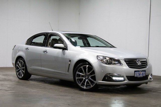 Used Holden Calais VF II MY16 V, 2016 Holden Calais VF II MY16 V Nitrate 6 Speed Sports Automatic Sedan