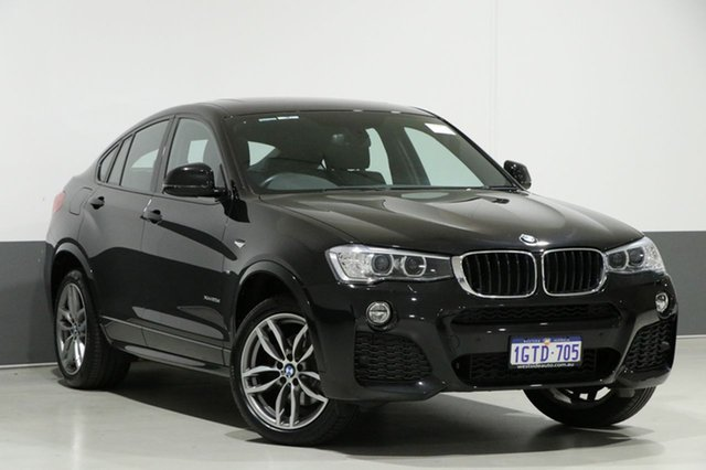 Used BMW X4 F26 MY16 xDrive 20D, 2016 BMW X4 F26 MY16 xDrive 20D Black 8 Speed Automatic Coupe