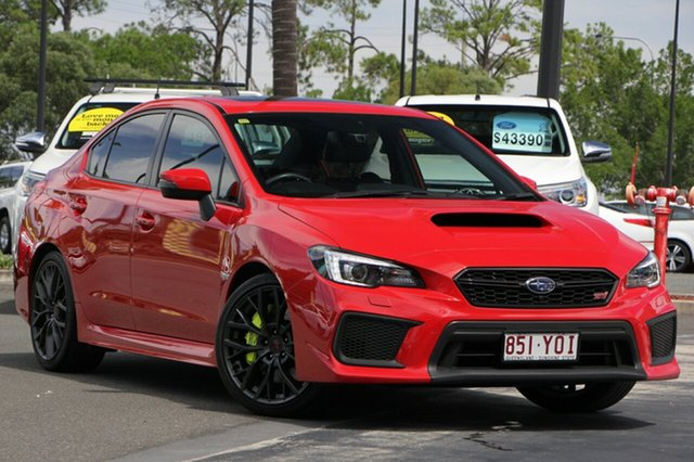 Used Subaru WRX V1 MY18 STI AWD, 2017 Subaru WRX V1 MY18 STI AWD Red 6 Speed Manual Sedan