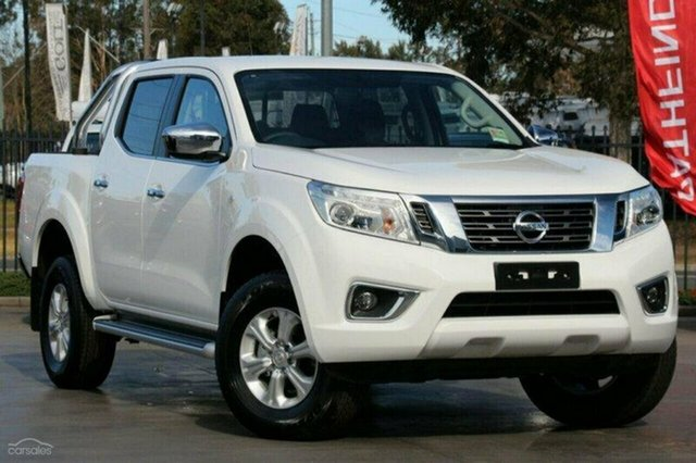 Demo Nissan Navara D23 S3 ST, 2019 Nissan Navara D23 S3 ST Polar White 7 Speed Sports Automatic Utility