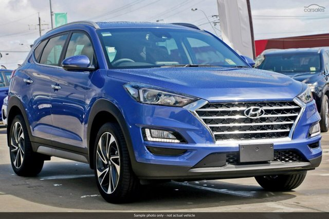 Demo Hyundai Tucson TLE3 MY19 Special Edition AWD, 2018 Hyundai Tucson TLE3 MY19 Special Edition AWD Champion Blue 8 Speed Sports Automatic Wagon