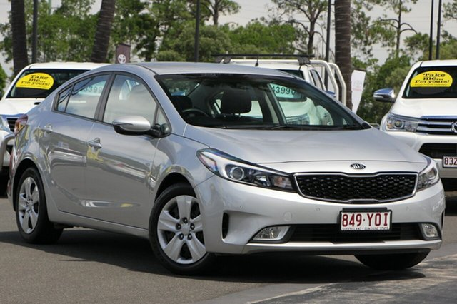 Used Kia Cerato YD MY17 S, 2016 Kia Cerato YD MY17 S Silver 6 Speed Sports Automatic Sedan