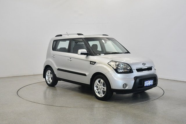 Used Kia Soul AM MY11 +, 2011 Kia Soul AM MY11 + Silver 4 Speed Automatic Hatchback