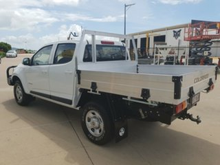 2016 Holden Colorado RG MY16 LS Crew Cab Summit White 6 Speed Sports Automatic Cab Chassis