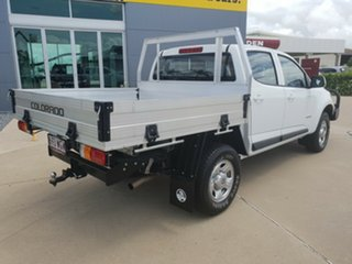 2016 Holden Colorado RG MY16 LS Crew Cab Summit White 6 Speed Sports Automatic Cab Chassis.