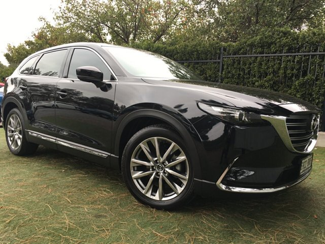 Used Mazda CX-9 TC GT SKYACTIV-Drive, 2017 Mazda CX-9 TC GT SKYACTIV-Drive Black/Grey 6 Speed Sports Automatic Wagon