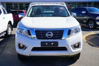 2017 Nissan Navara D23 S3 RX 4x2 Polar White 6 Speed Manual Cab Chassis.