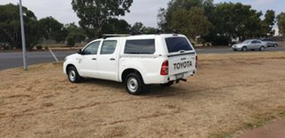 2014 Toyota Hilux KUN16R MY14 SR White 5 Speed Manual Cab Chassis
