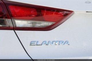 2018 Hyundai Elantra AD.2 MY19 Active Polar White 6 Speed Sports Automatic Sedan