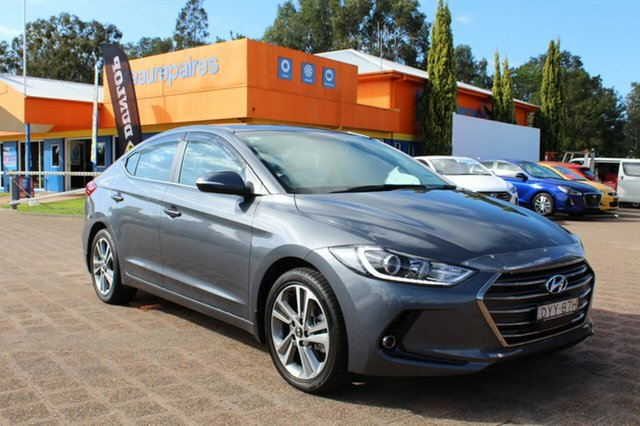 Demo Hyundai Elantra AD MY18 Elite, 2018 Hyundai Elantra AD MY18 Elite Iron Gray 6 Speed Sports Automatic Sedan