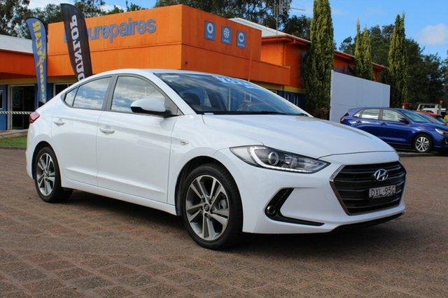 Demo Hyundai Elantra  , 2018 Hyundai Elantra Polar White Automatic Sedan