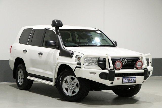Used Toyota Landcruiser VDJ200R MY16 GX (4x4), 2017 Toyota Landcruiser VDJ200R MY16 GX (4x4) White 6 Speed Automatic Wagon
