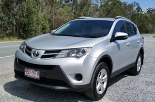 2013 Toyota RAV4 ALA49R GX AWD Silver 6 Speed Sports Automatic Wagon.
