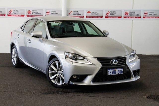 Used Lexus IS250 GSE30R MY15 Luxury, 2015 Lexus IS250 GSE30R MY15 Luxury Silver 6 Speed Automatic Sedan