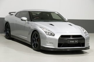 2014 Nissan GT-R R35 MY14 Black Edition Silver 6 Speed Auto Dual Clutch Coupe