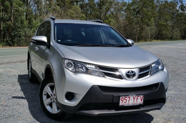 Used Toyota RAV4 ALA49R GX AWD, 2013 Toyota RAV4 ALA49R GX AWD Silver 6 Speed Sports Automatic Wagon