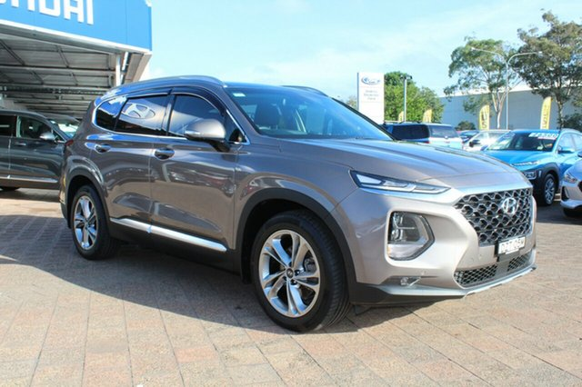 Demo Hyundai Santa Fe  Highlander, 2018 Hyundai Santa Fe Highlander Earthly Bronze, Metallic Premi Automatic SUV
