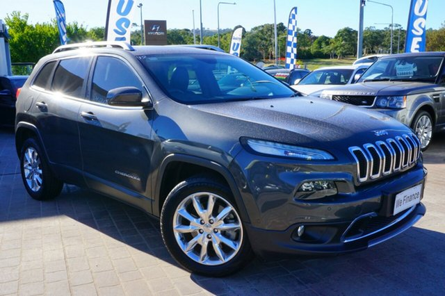Used Jeep Cherokee KL MY16 Limited, 2015 Jeep Cherokee KL MY16 Limited Grey 9 Speed Sports Automatic Wagon
