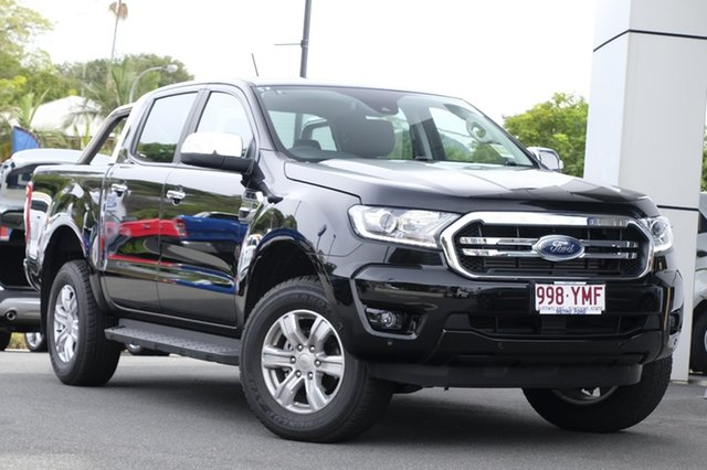 Demo Ford Ranger PX MkIII 2019.00MY XLT Pick-up Double Cab, 2018 Ford Ranger PX MkIII 2019.00MY XLT Pick-up Double Cab Shadow Black 6 Speed Sports Automatic
