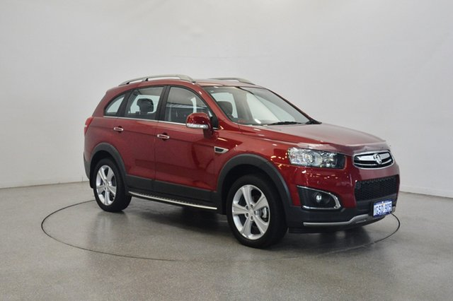Used Holden Captiva CG MY15 7 AWD LTZ, 2015 Holden Captiva CG MY15 7 AWD LTZ Velvet Red 6 Speed Sports Automatic Wagon