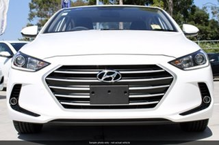 2018 Hyundai Elantra AD.2 MY19 Active Polar White 6 Speed Sports Automatic Sedan.