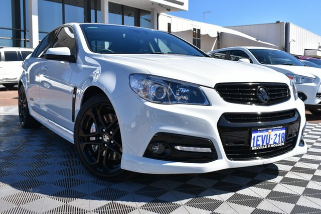 Used Holden Commodore VF MY15 SS V Redline, 2015 Holden Commodore VF MY15 SS V Redline White 6 Speed Sports Automatic Sedan