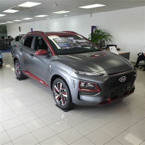 New Hyundai Kona OS.2 MY19 Iron Man Edition D-CT AWD, 2018 Hyundai Kona OS.2 MY19 Iron Man Edition D-CT AWD Iron Man two-tone 7 Speed