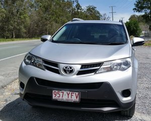 2013 Toyota RAV4 ALA49R GX AWD Silver 6 Speed Sports Automatic Wagon