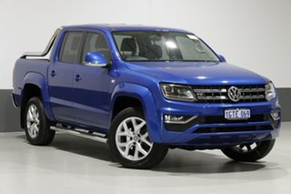 2017 Volkswagen Amarok 2H MY17.5 V6 TDI 550 Ultimate Blue 8 Speed Automatic Dual Cab Utility.