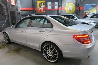 2011 Mercedes-Benz C250 W204 MY11 BlueEFFICIENCY 7G-Tronic + Avantgarde Silver 7 Speed