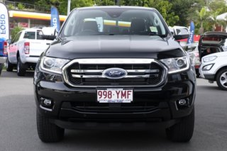 2018 Ford Ranger PX MkIII 2019.00MY XLT Pick-up Double Cab Shadow Black 6 Speed Sports Automatic