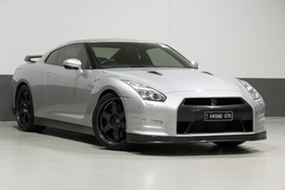 2014 Nissan GT-R R35 MY14 Black Edition Silver 6 Speed Auto Dual Clutch Coupe.