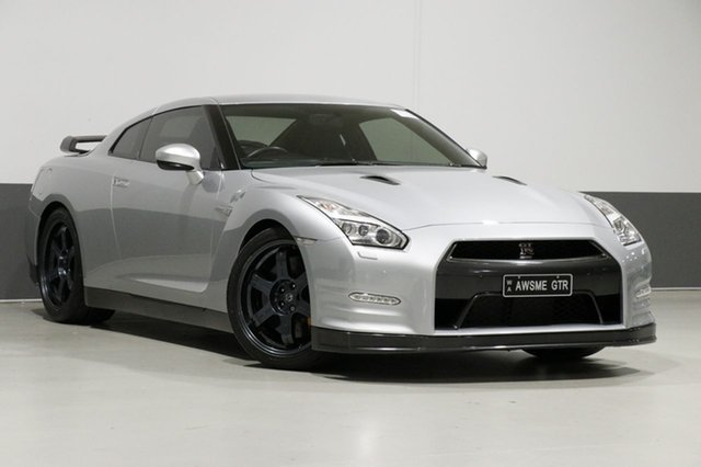 Used Nissan GT-R R35 MY14 Black Edition, 2014 Nissan GT-R R35 MY14 Black Edition Silver 6 Speed Auto Dual Clutch Coupe