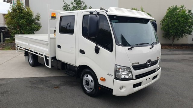 Used Hino   , 2014 Hino 617 LWB 300 SERIES II WIDE 1 White Dual Cab - Tray 4.0l RWD