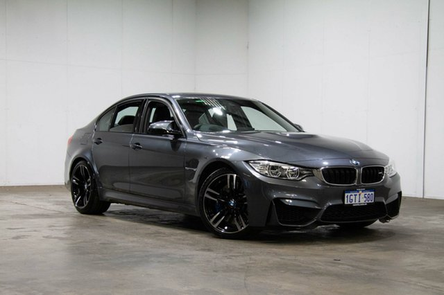 Used BMW M3 F80 LCI M-DCT, 2016 BMW M3 F80 LCI M-DCT Grey 7 Speed Sports Automatic Dual Clutch Sedan