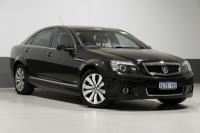 Used Holden Caprice WM II V, 2010 Holden Caprice WM II V Black 6 Speed Auto Active Sequential Sedan