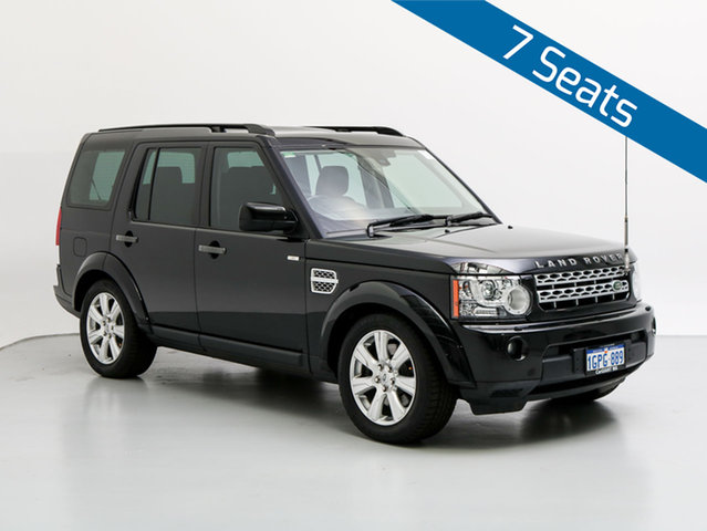 Used Land Rover Discovery 4 MY13 3.0 SDV6 HSE, 2013 Land Rover Discovery 4 MY13 3.0 SDV6 HSE Black 8 Speed Automatic Wagon