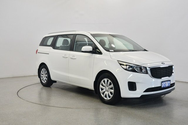Used Kia Carnival YP MY18 S, 2018 Kia Carnival YP MY18 S Clear White 6 Speed Sports Automatic Wagon