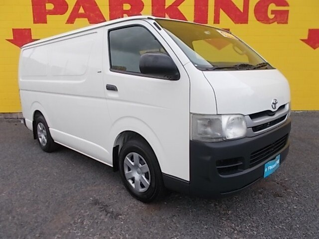 Used Toyota HiAce TRH201R MY11 LWB, 2010 Toyota HiAce TRH201R MY11 LWB White 5 Speed Manual Van