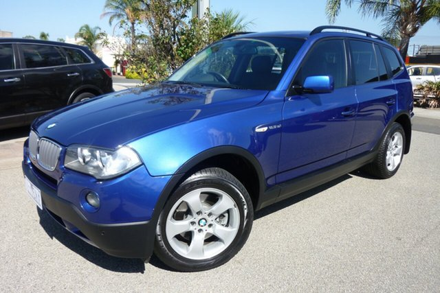 Used BMW X3 E83 MY07 si Steptronic, 2007 BMW X3 E83 MY07 si Steptronic Blue 6 Speed Sports Automatic Wagon