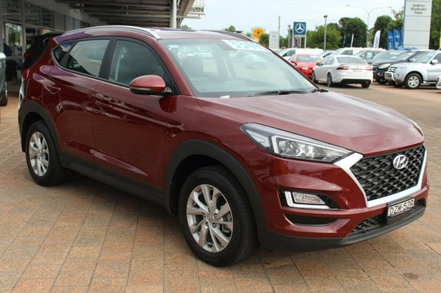 Demo Hyundai Tucson TL3 MY19 Active X 2WD, 2018 Hyundai Tucson TL3 MY19 Active X 2WD Gemstone Red 6 Speed Automatic Wagon